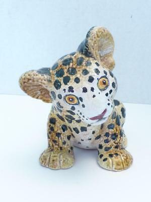 FREE SHIPPINGAAA 96705STA Leopard Cub Standing Model Replica New in Package