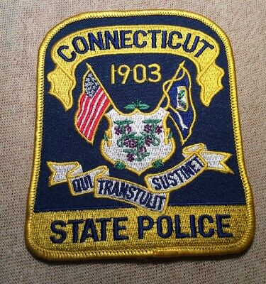 CT Connecticut State Police Patch