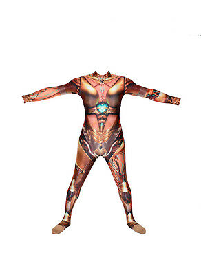 Printed Robot Lycra Bodysuit/catsuit/dance Costume/drag Queen