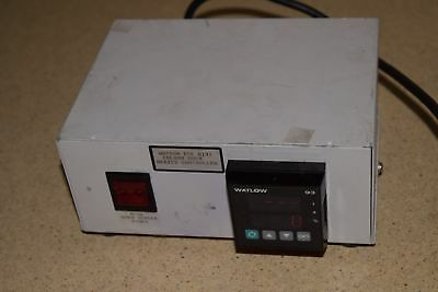 Wasson Ece Mini Column Oven Heater Controller W/ Watlow 93 Readout