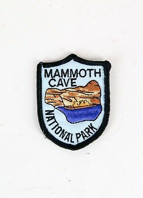 Mammoth Cave National Park Souvenir Patch Kentucky