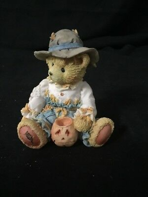 "Cherished Teddies Fall Halloween GARY ""True Friendships Are Scarce"" 1993"