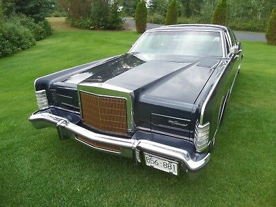 Lincoln: Continental CLASSIC 1979 LINCOLN CONTINENTAL COLLECTORS SERIES