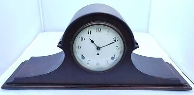 Vintage Seth Thomas Mantle Clock Westminster Wind With Key Tested & Working USA