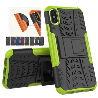 NEW Tyre Treads ShockProof Rugged Bumper Silicone 360 Hybrid Case For iPhone X