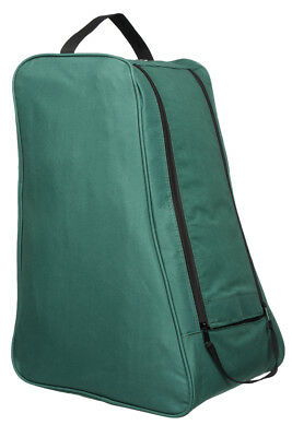 Green Wellington Boot Bag Carry Case Shoe Welly Travel Transport Muddy Storage