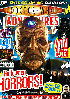 Doctor Who Magazine With Free Halloween Face Mask & Claws