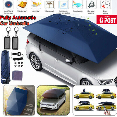 Fully Automatic Car Umbrella Sunshade Tent Roof Cover Anti Uv 2