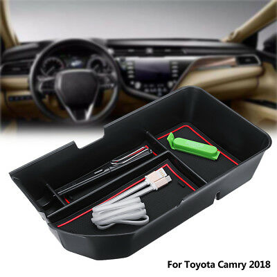 Car Center Control Storage Armrest Organizer Glove Box For Toyota Camry 2018 AU