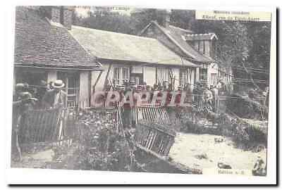Elbeuf Vintage Postcard flooded Houses street of Thit Anger (reproduction)
