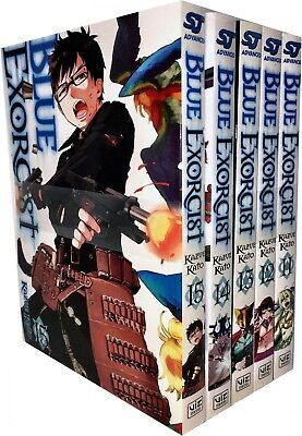 Blue Exorcist Volume 11-15 Collection 5 Books Set (Series 3) By Kazue Kato