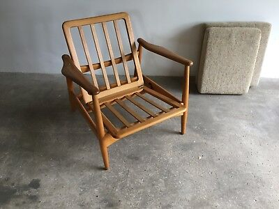 1960's Danish lounge arm chair by Arne Vodder