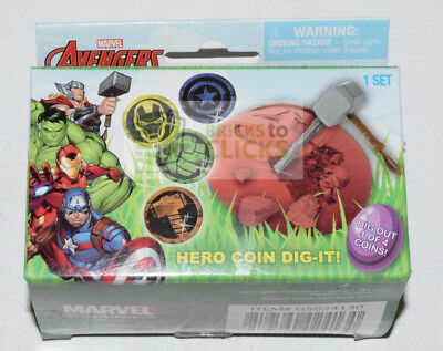 Marvel Infinity Gem Dig It Surprise Toy Archaeology Kit 1 of 4 Easter QTY 1