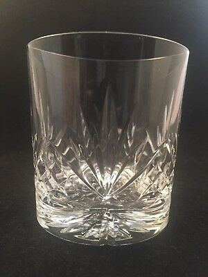 "Edinburgh Crystal STIRLING  Cut Whisky Tumbler 3"" Tall Stunning"