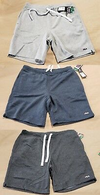 ⭐️ New Men's Fila French Terry Training Shorts - Casual Or Sport⭐️