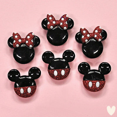 DISNEY Mickey & Minnie Mouse 7718 Dress It Up Buttons - Embellishments