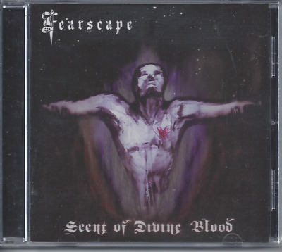 Fearscape-Scent Of Divine Blood CD Christian Death Metal (Brand New Sealed)