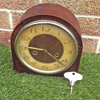 Smiths 8 day Striking Mantle Clock - Floating Balance Escapement - For Attention