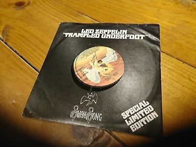 Trampled Under Foot Led Zeppelin Special Limited Edition 45 Swan Song