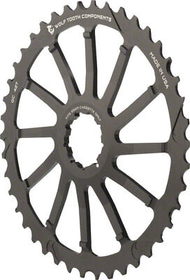 NEW Wolf Tooth Components 42T GC cog for SRAM 11-36 10-speed Cassettes Black