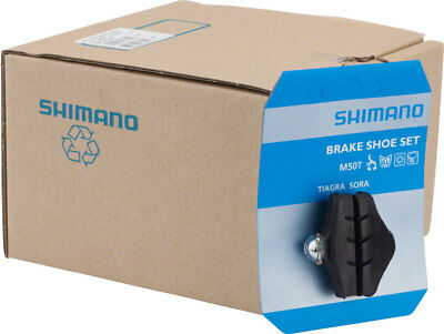 NEW Shimano Sora/105 M50T Road Brake Shoes 10-Pairs