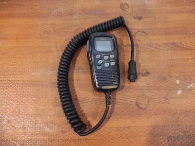 ICOM HM-157B Command Mic II F/ IC-M502 602/402/422 - Good Condition
