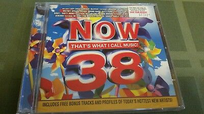 Now That's What I Call Music #38 Us Version New Factory Sealed Cd Free Shipping