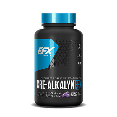 All American EFX KRE ALKALYN 750mg Créatine monoghydrate toutes les tailles
