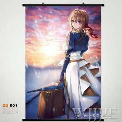 4282 Violet Evergarden Anime manga wall Poster Scroll