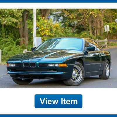 1994 BMW 8-Series 840i Coupe 1 Owner 57K mi Arizona CARFAX 1994 BMW 840i Coupe 1 Owner 57K mi Arizona VIDEO CARFAX Collectible!