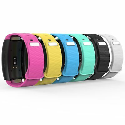 Silicone Watch Band Strap Wristband For Samsung Gear Fit 2 / Fit2 Pro SM-R360