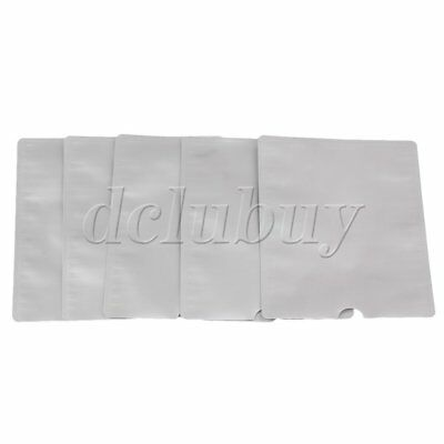 5 Pieces Silver Aluminum Foil RFID Blocking Passport Holder without Logo