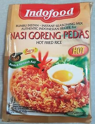Genuine Indofood - Nasi Goreng Pedas (Hot Fried Rice) - 45 gm