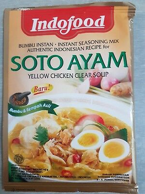 Genuine Indofood - Soto Ayam (Yellow Chicken Clear Soup) - 45 gm