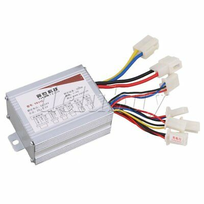 24V 350W Scooter Electric Bike Motorbike Brush Motor Controller