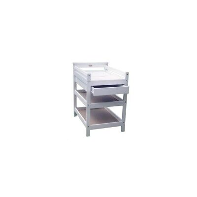 Mothercraft Federation Style Change Table Timber - White