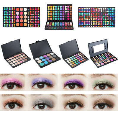 40 Color Nude Eyeshadow Palette Mineral Matte Pigment Eye Shadow Waterproof LD56