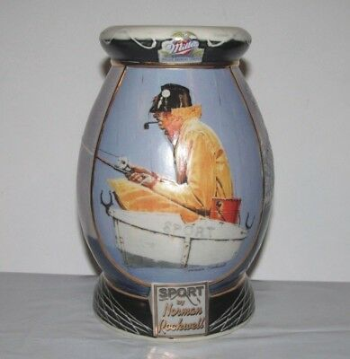 Miller Beer SPORT by Norman Rockwell Saturday Evening Post Collection Mug Stein