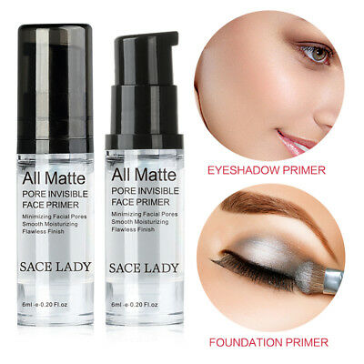 SACE LADY Invisible Pore Face Primer Base Ultra-smooth Matte Makeup Fundación