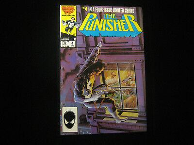 The Punisher #4 (Apr 1986, Marvel) Limited Series HIGHER GRADE