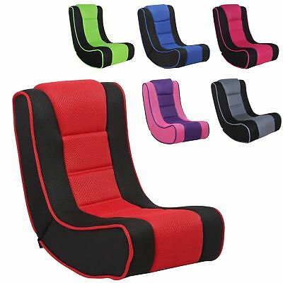 Kids Portable Lightweight Video Gaming Chair Rocker Padded TV Seat For Ages  3 7