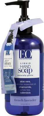 Liquid Hand Soap French Lavender, EO Products, 12 oz