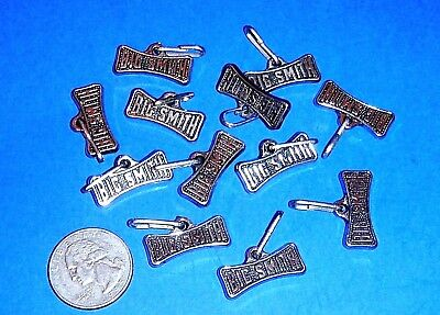 "Lot of 12 Vintage ""BIG SMITH"" Zipper Pulls - Big Smith Overalls"