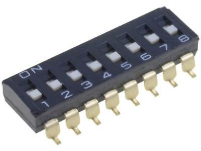 A6S-8101-H Switch DIP-SWITCH Poles number8 ON-OFF 0.025A/24VDC 100MΩ OMRON