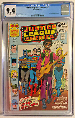 Justice League Of America #95 Cgc 9.4 Dc 1971 Bronze Age Neal Adams Cover