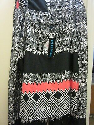 Womans Retro Style Tank and Wide Leg pants, 1X