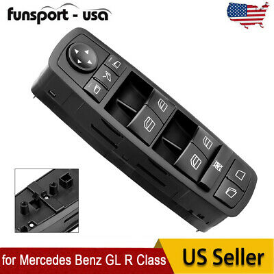 Window Switch for 2005-12 Mercedes Benz GL R Class GL350 GL450 GL550 2518300390