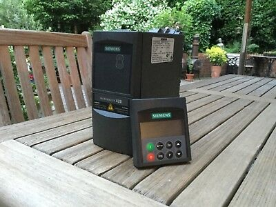siemens Micromaster420 with (BOP) operators interface pad