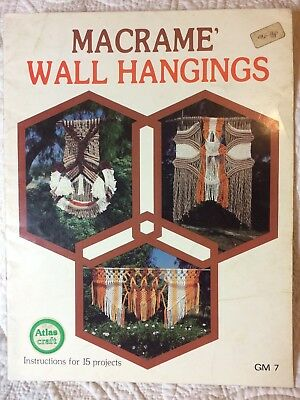 Macrame Wall Hangings Instructions for 15 Projects - Just amazing projects !!!!