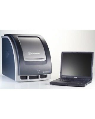 Stratagene Mx3005 Real-Time PCR QPCR System w/ Software and Laptop Inc Warranty